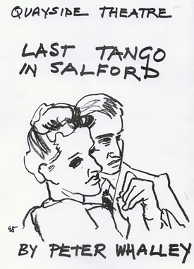 Last Tango in Salford by Peter Whalley